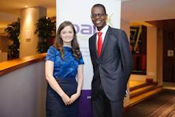Natalie Gray and Ivan Chibanda