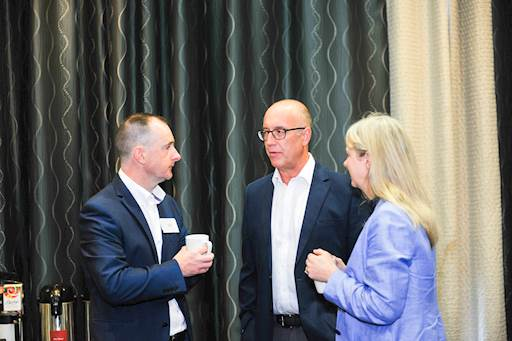 Conor Lambe hosted the Business Breakfast, discussing the economic prospects for 2018/9 and future possibilities surrounding Brexit.